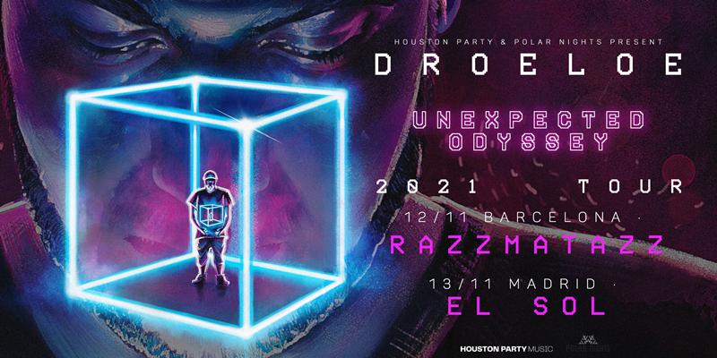 DROELOE llega a Madrid y Barcelona con Unexpected Odyssey